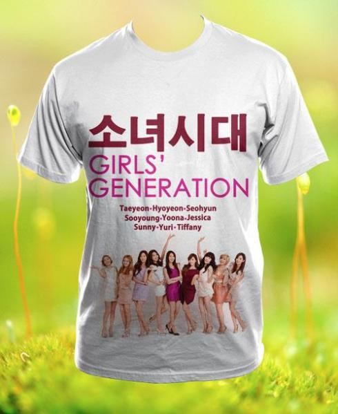 SNSD, SNSD T-shirt